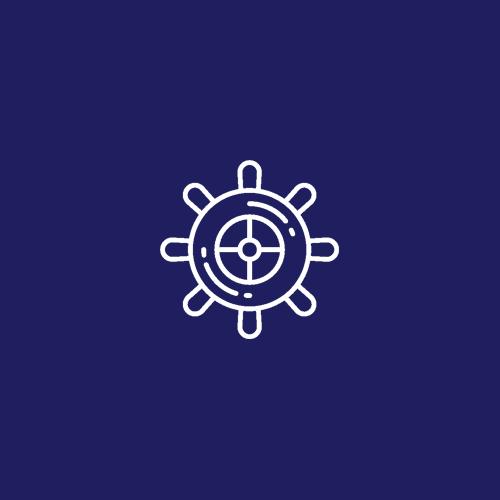 icon ship wheel